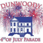4th of july parade logo